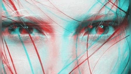 模拟红蓝3D效果