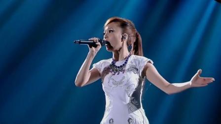 张韶涵演唱《站在高岗上》, 高音嗨翻全场, 霸气外露尽显王者风范