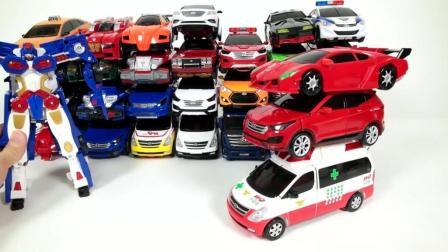 玩具汽车大集合, 超级变身机器侠, 男孩子们的福利