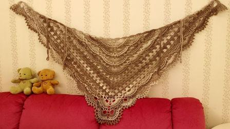 贵妇人披肩一清风的梦想编织