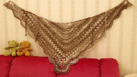 贵妇人披肩三清风的梦想编织