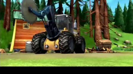 熊出没: 强哥和秘书毁了锯子和伐木车, 才知道秘书没来