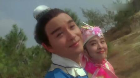《东成西就》中哥哥和王祖贤搞笑的眉来眼去剑, 只可惜斯人已去