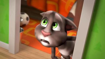搞笑动画: 汤姆猫将房间上下颠倒恶搞汉皮狗 结果却把自己给搞晕了