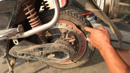 真空胎轮圈变形漏气怎么办? 老师傅教你一招修复如新, 不花一分钱