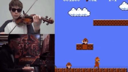 开外挂的小提琴和钢琴, 那些经典老游戏配乐, 你认识几个?