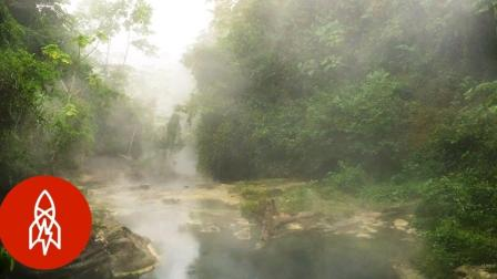 一条水温达到210华氏度的河流?小哥亚马逊探秘