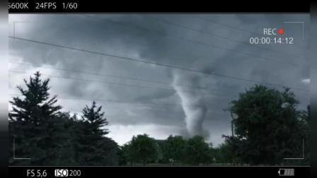 看看龙卷风的威力有多么可怕