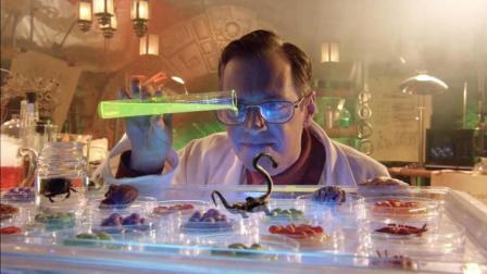 科学家在孤岛上研究怪异生物, 却因为失误, 造出了无数的怪物