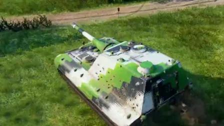 坦克世界每日精彩战斗#4  E-100突击炮12.3K输出韦斯特菲尔德当爹又当妈