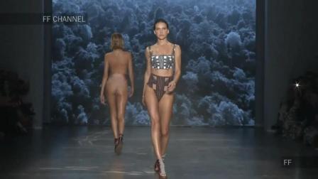 Michaela 2019哥伦比亚时装秀, 前卫的比基尼设计, 更加清新, 时尚感十足