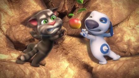 搞笑动画: 汤姆猫和汉克狗沙漠历险争苹果 看看谁才是真正的高手