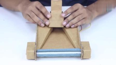 DIY牛人用纸板自制吸尘器, 超实用!