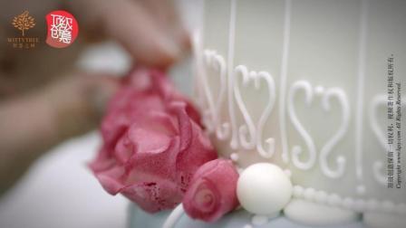 智慧之树顶级创意个性蛋糕的制作过程,