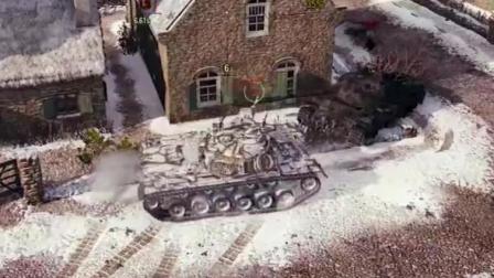 如何只需要一个点位就能打出近万伤! 坦克世界每日精彩战斗#5