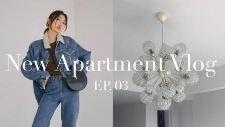 New Apartment Vlog 第三集: 和我们一起装灯和门丨Savislook