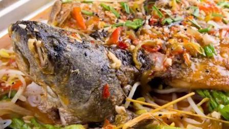 泰式柠檬烤鱼, 看完这个视频学会了, 再也不用去外面吃烤鱼了!