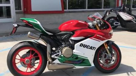 杜卡迪1299摩托车发动机声音, 是个爷们就受不了!