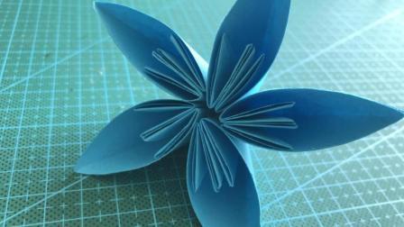 手工折纸 小姐姐教你折樱花 非常精致 可以和真花媲美了