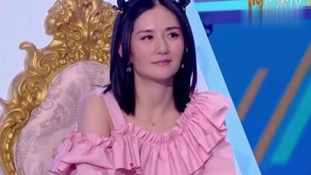 《快本》张杰猛怼娜娜, 幸好一口气唱了88个字, 谢娜才没生气