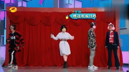 《快本》维嘉 吴昕踩点唱歌, 不料一开嗓众人狂笑, 何炅调侃: 笑不动了!