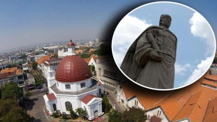 世界上第一座用中国人名字命名的外国城市, 甚至把他当做神明供奉