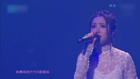白色蛋糕长裙变身小公主 邓紫棋实力演唱《倒数》