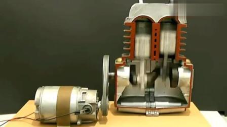 原来发动机内部是这样运转的!