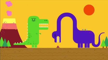 《嗨道奇第一季》恐龙会吃掉诺丽的菜吗