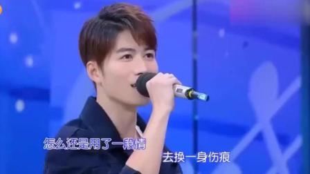 快乐大本营唱歌, 他唱的太可怜, 他唱的搞笑又好听!