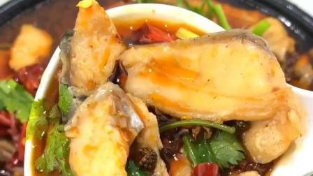 超美味的麻辣水煮鱼, 麻辣鲜香, 吃起来很过瘾!