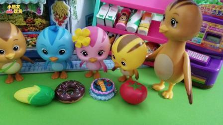 萌鸡小队玩具故事: 不买过期的食品, 美佳妈妈真是个良心好老板