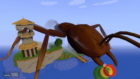 我的世界 蚂蚁偷吃变大药剂, 从蚂蚁变成巨人