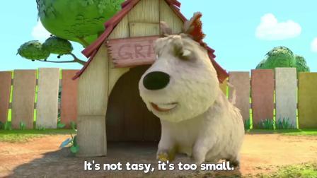 小动物儿童动画英文儿歌幼儿教育系列(三)可爱小狗