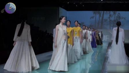 深圳内衣展开场秀这次是中国风, 很漂亮的古风衣服啊