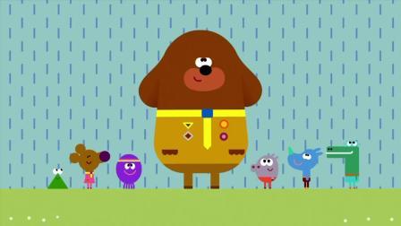 《嗨道奇第一季》下雨了, 阿奇非常的开心, 跳起舞来了