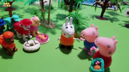汪汪队玩具故事: 瑞贝卡的新朋友, 介绍给了佩奇