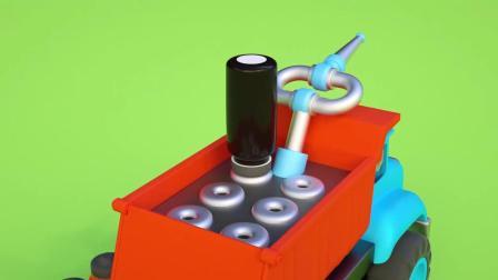 小汽车儿童动画英文儿歌幼儿教育系列(六)bubu