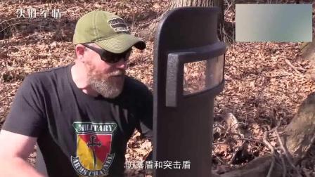 """""""红海行动""""中, 能挡住AK47的反恐盾牌, 真的存在吗?"""