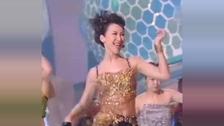 郭富城和李玟同台飙舞, 不愧是当年的舞王, 太帅了!