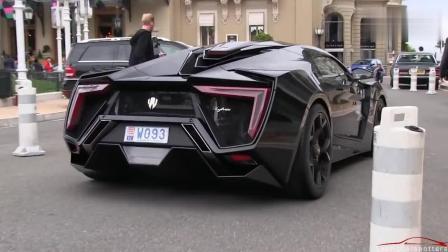 这辆是什么跑车? 340万美元, 740马力, 最高时速385码, 2.8秒破百
