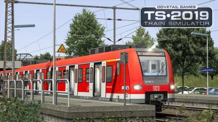 火车模拟2019-法兰克福轻轨 #3: 资本时间发车 开往终点Friedrichsdorf | TS2019