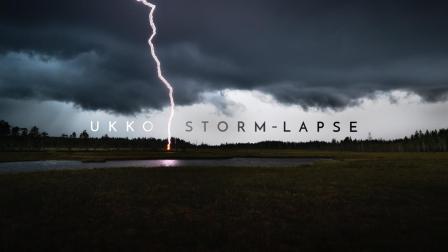 创意延时摄影 风暴来袭
