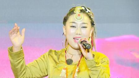 凉山湿地音乐节泽央卓玛嘹亮的嗓子演唱《阿竹喂》