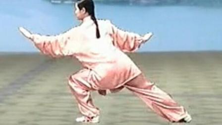 24式——太极拳——分解教学——吴阿敏