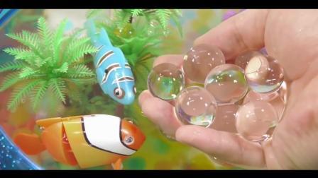 小企鹅波鲁鲁 玩转海底世界 水舞珠珠玩具