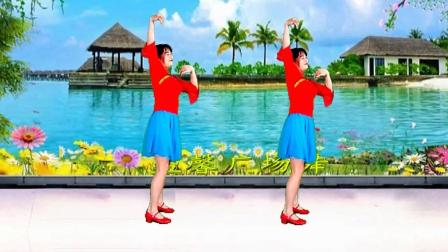 益馨广场舞《梨花飞情人泪》入门32步适合大众锻炼的舞步