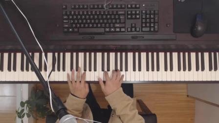 钢琴弹唱刘思涵的《走在冷风中》超级好听, 时光不可倒流, 生命交错行走。