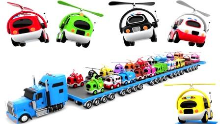上课啦飞行汽车总动员精彩玩具学儿童英语