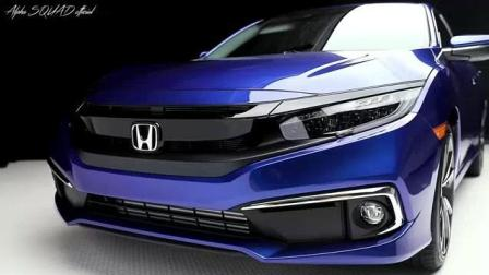 2019 Honda Civic 与2018款的有什么区别呢? 看看内饰与外观变化